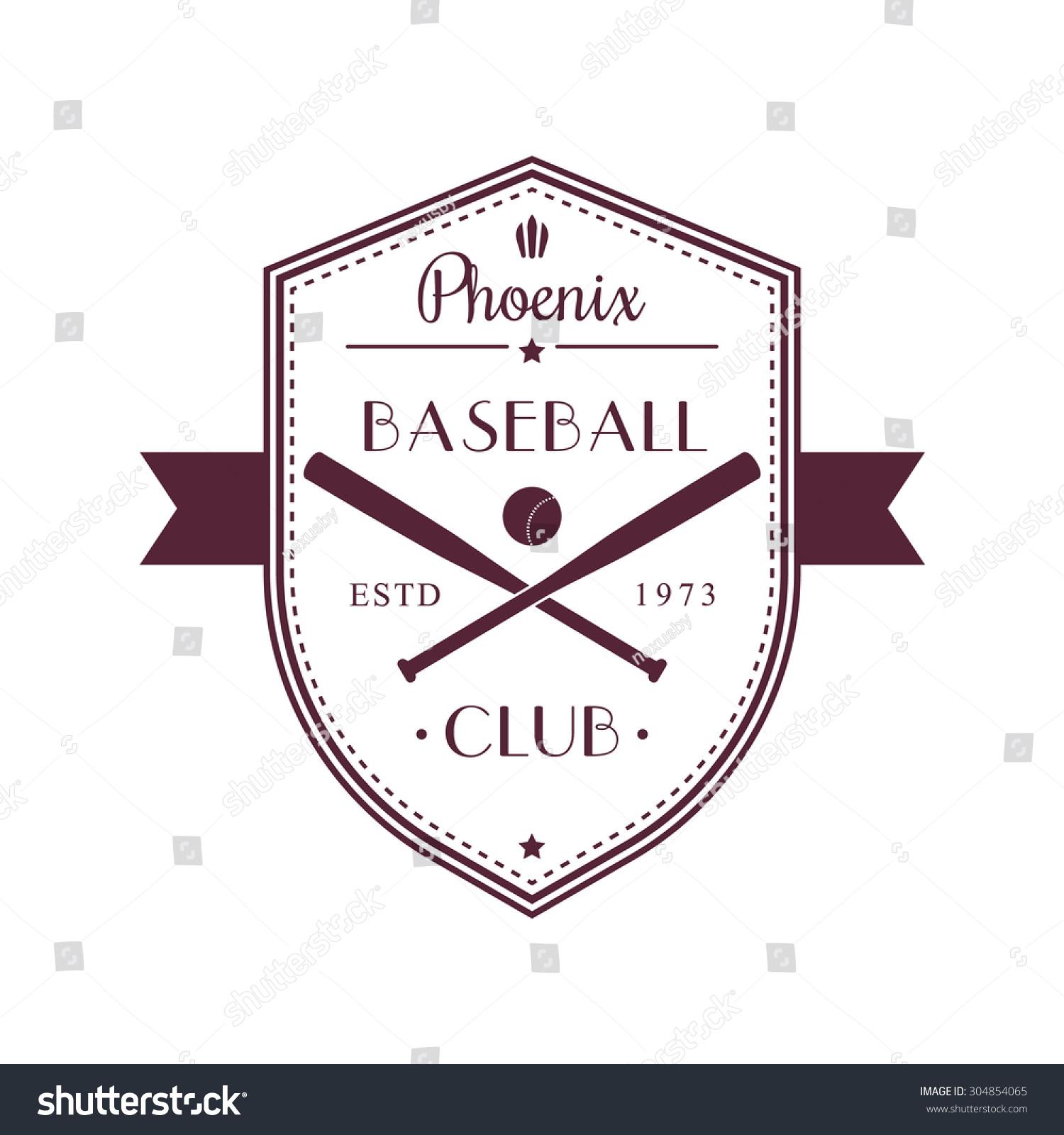 Baseball Vintage Grunge Emblems Logo Tshirt Stock Vector 304854065