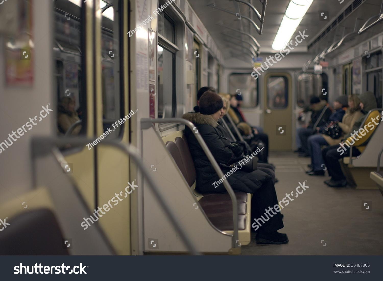 People In Subway Train Stock Photo 30487306 : Shutterstock