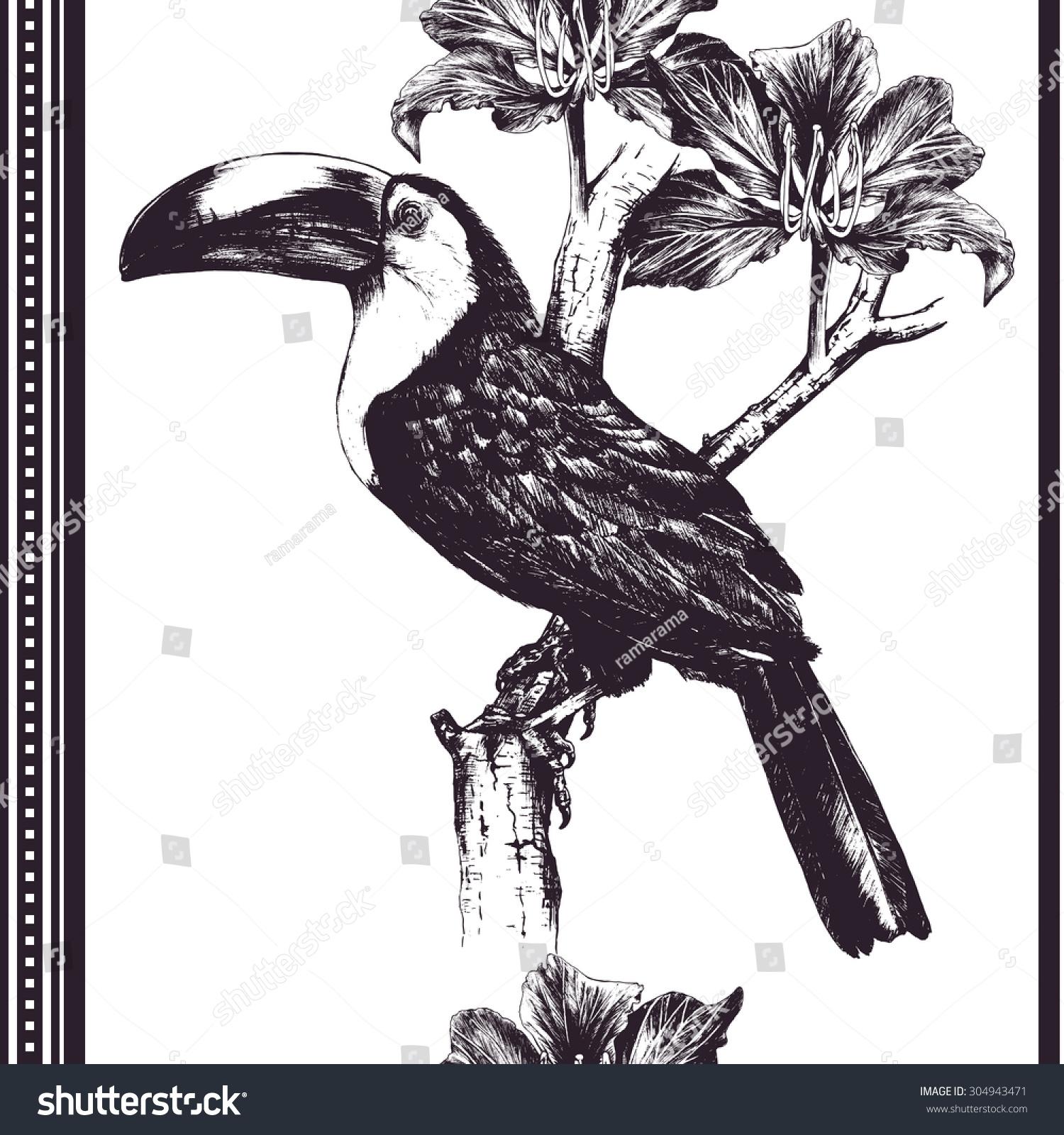 Vector Handdrawn Illustration Graphic Template Wallpaper