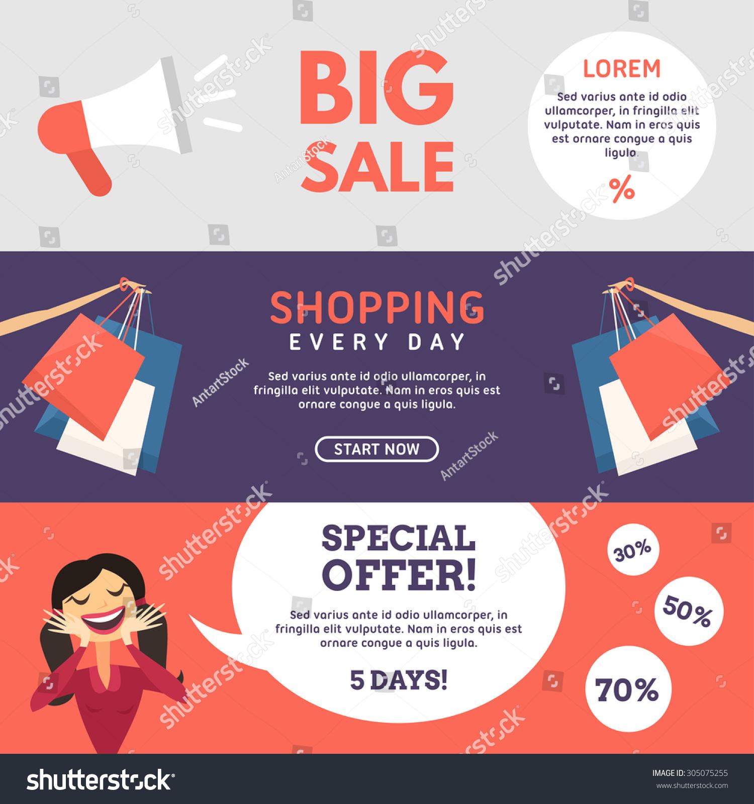 Online shopping big offer