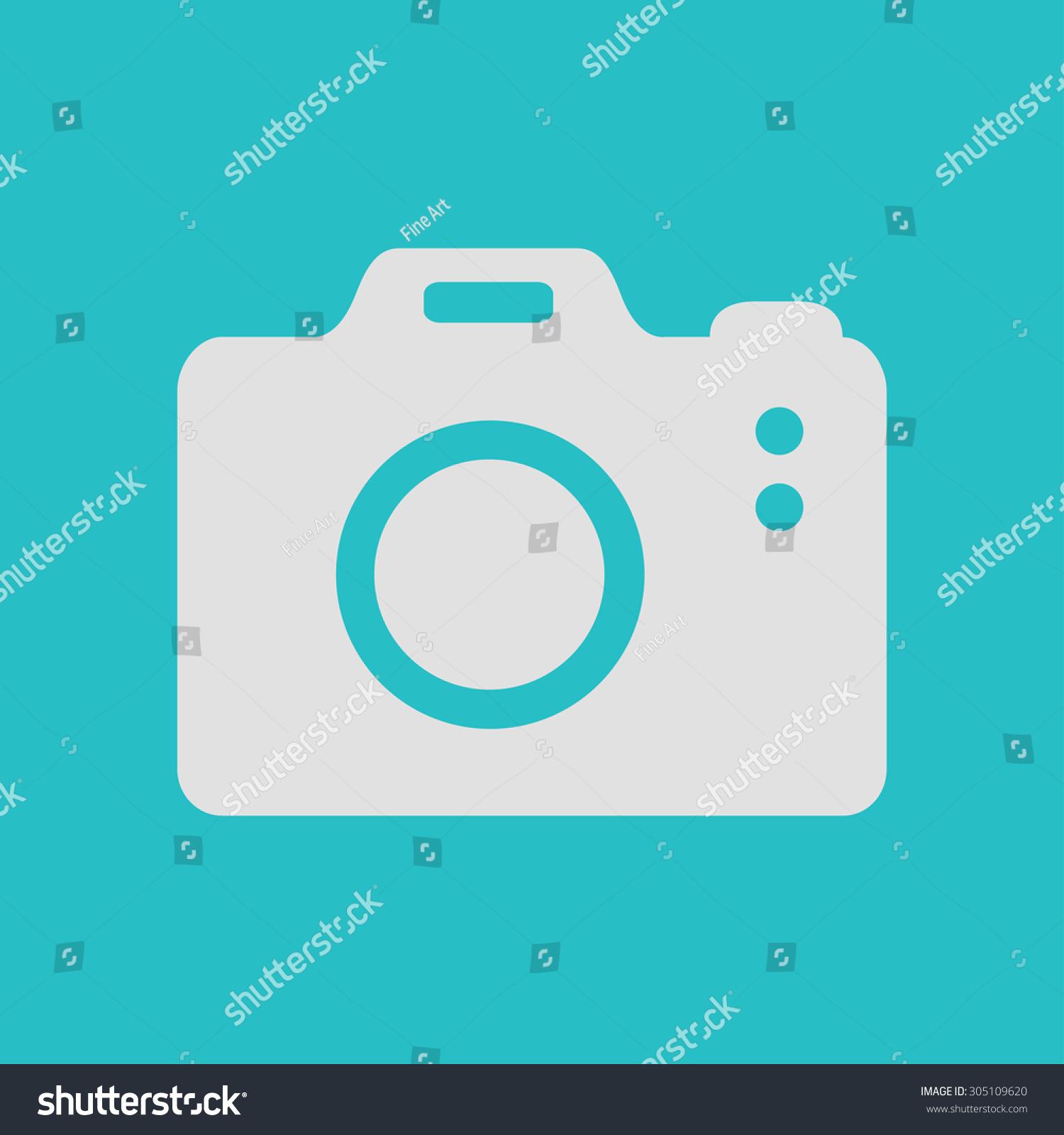 Photo Camera Symbol Dslr Camera Sign Stock Vector Royalty Free