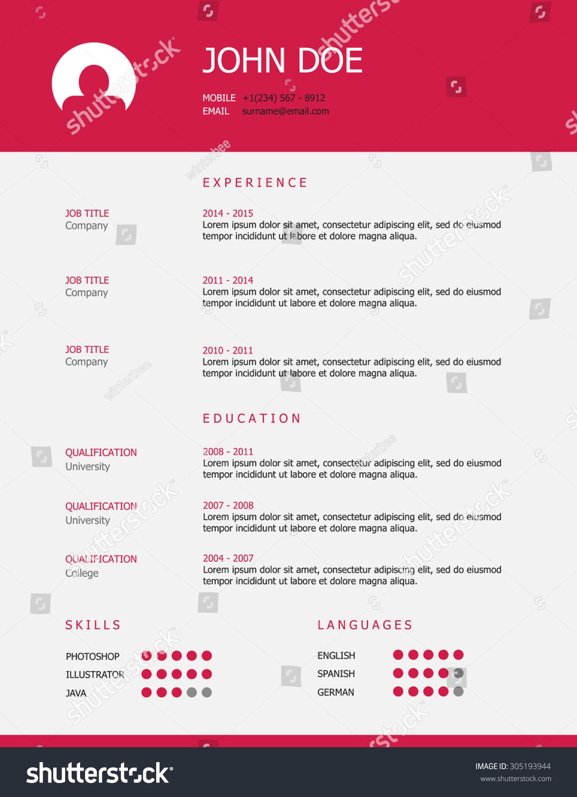 resume header templates 17 best ideas about creative resume