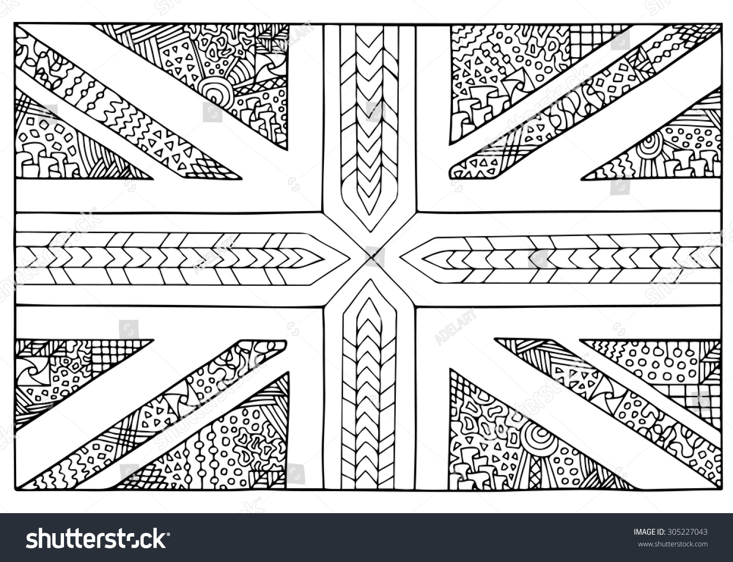 Perfect Union Jack Bunting Template Photo - Examples Professional ...