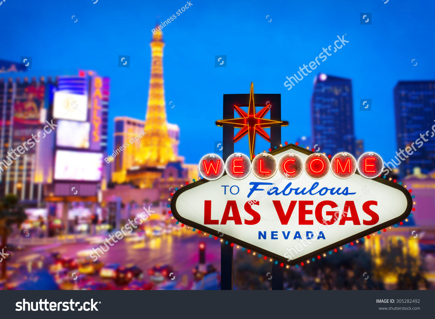 welcome fabulous las vegas nevada sign stock photo 305282492 shutterstock. Black Bedroom Furniture Sets. Home Design Ideas