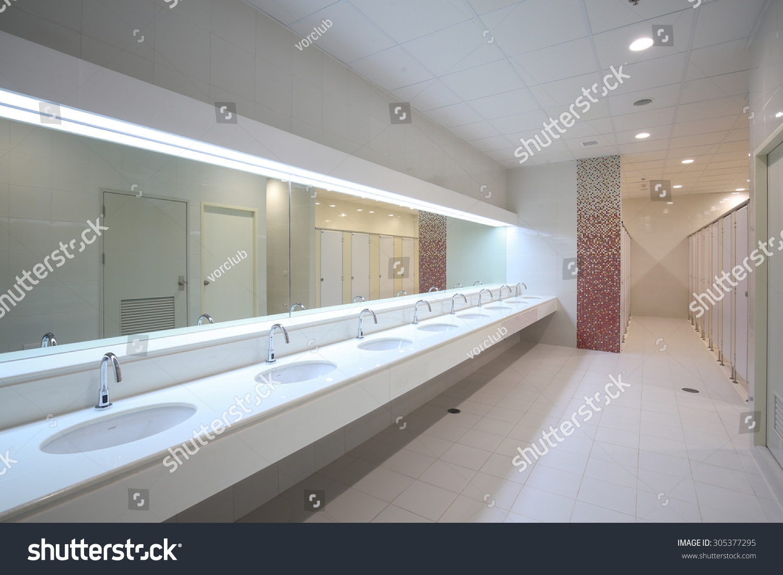 Commercial Bathroom Stock Photo 305377295Shutterstock