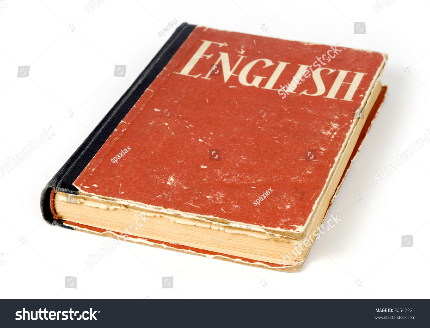 Red English Book Stock Photo 30542221 - Shutterstock