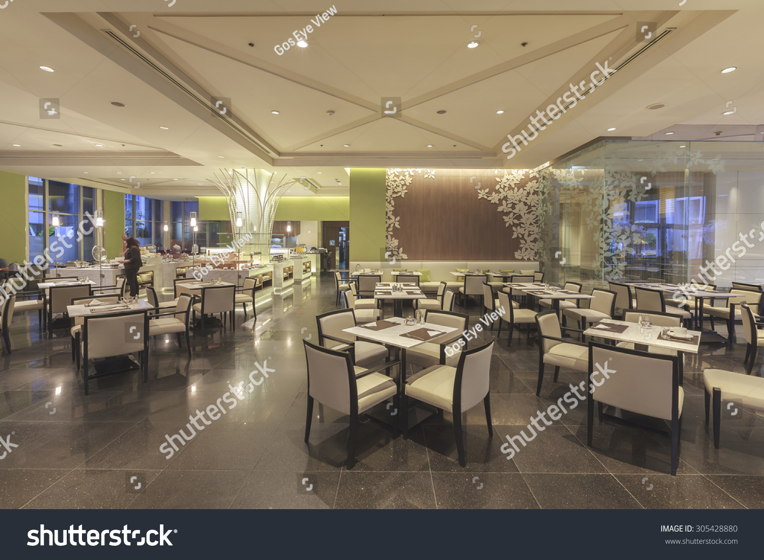 BANGKOK, THAILAND - August 03, 2016 : Modern interior design at Central  Westgate shopping