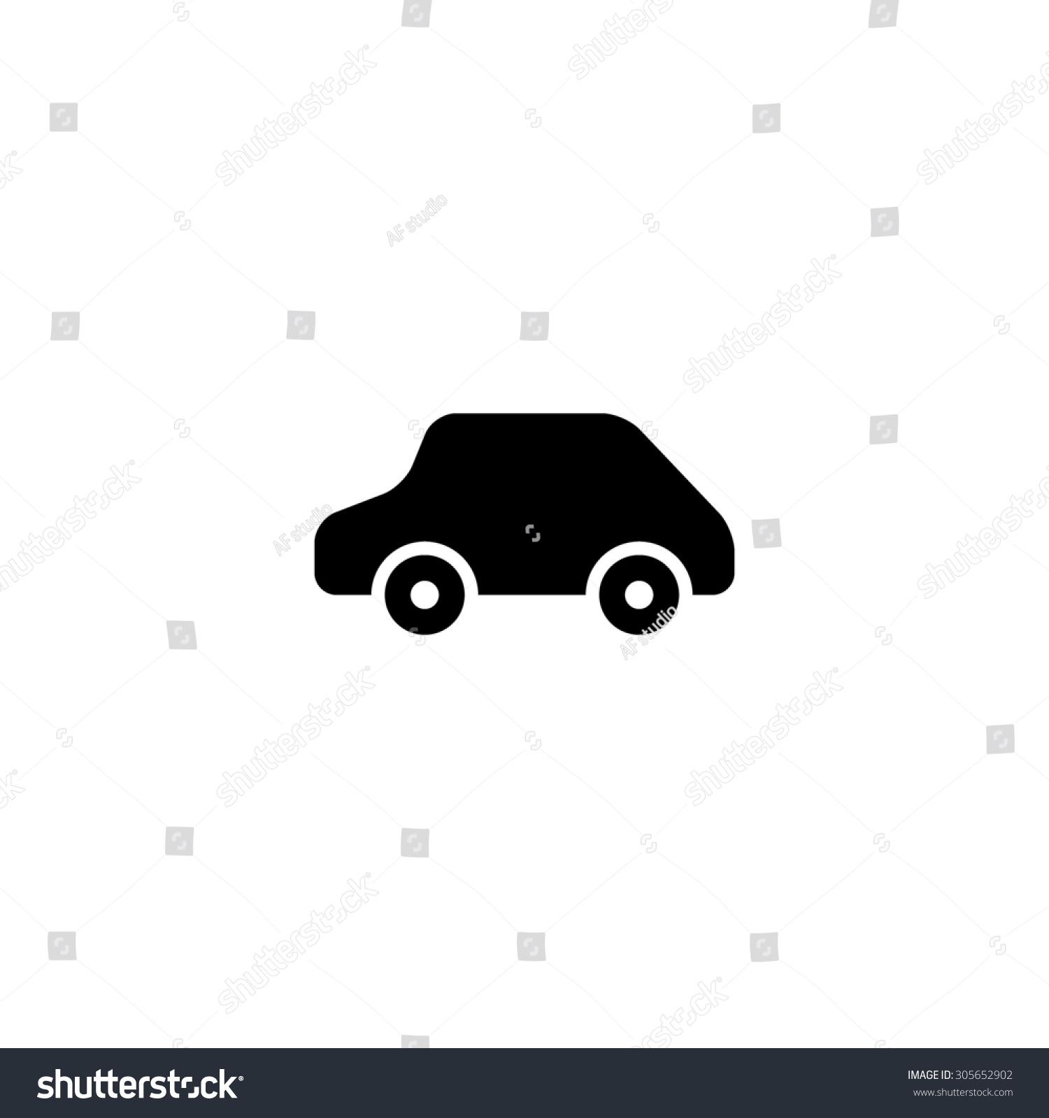 Toy car logo template simple black stock illustration 305652902 toy car logo template simple black flat pictogram on white background pronofoot35fo Choice Image