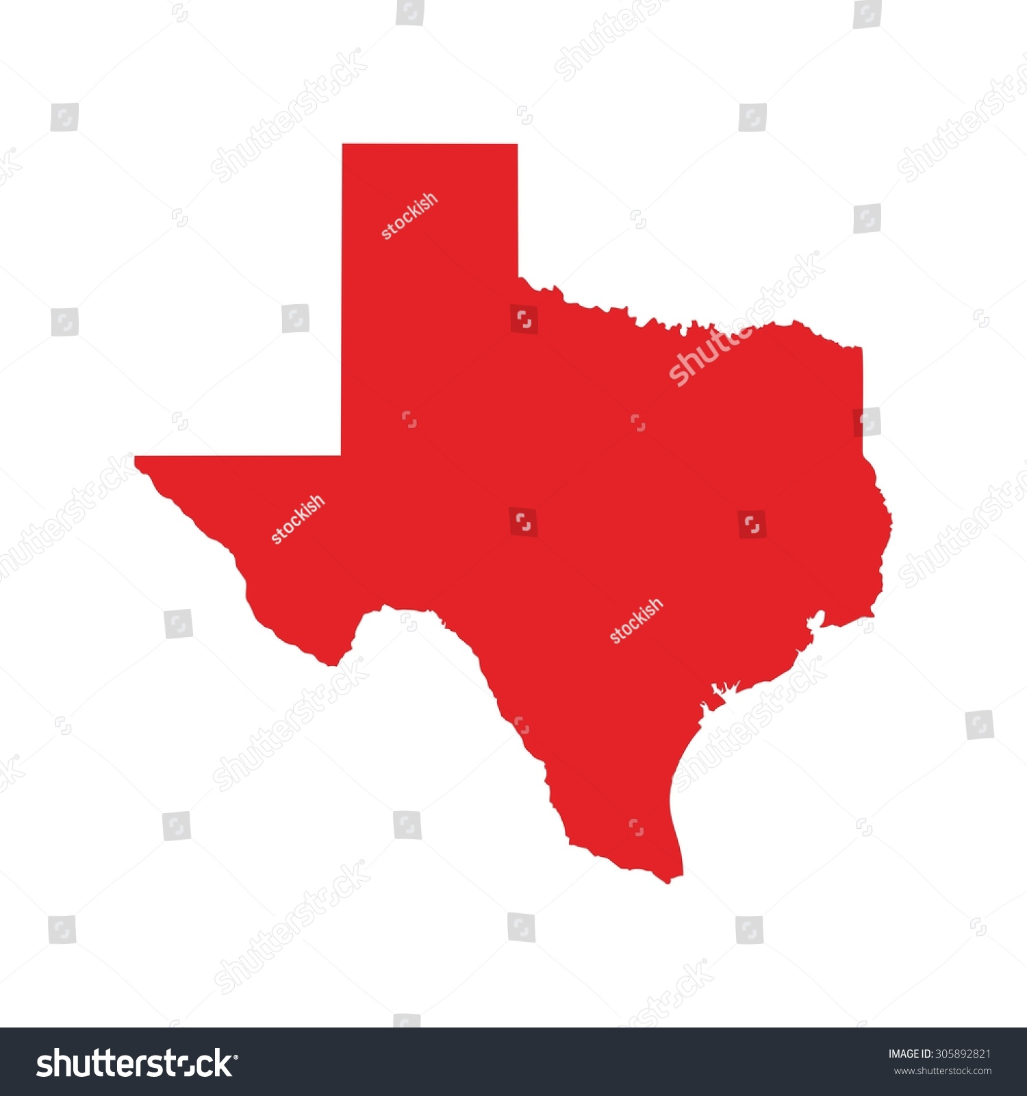 Red Map Texas Map Texas Icon Stock Vector Shutterstock - Maptexas