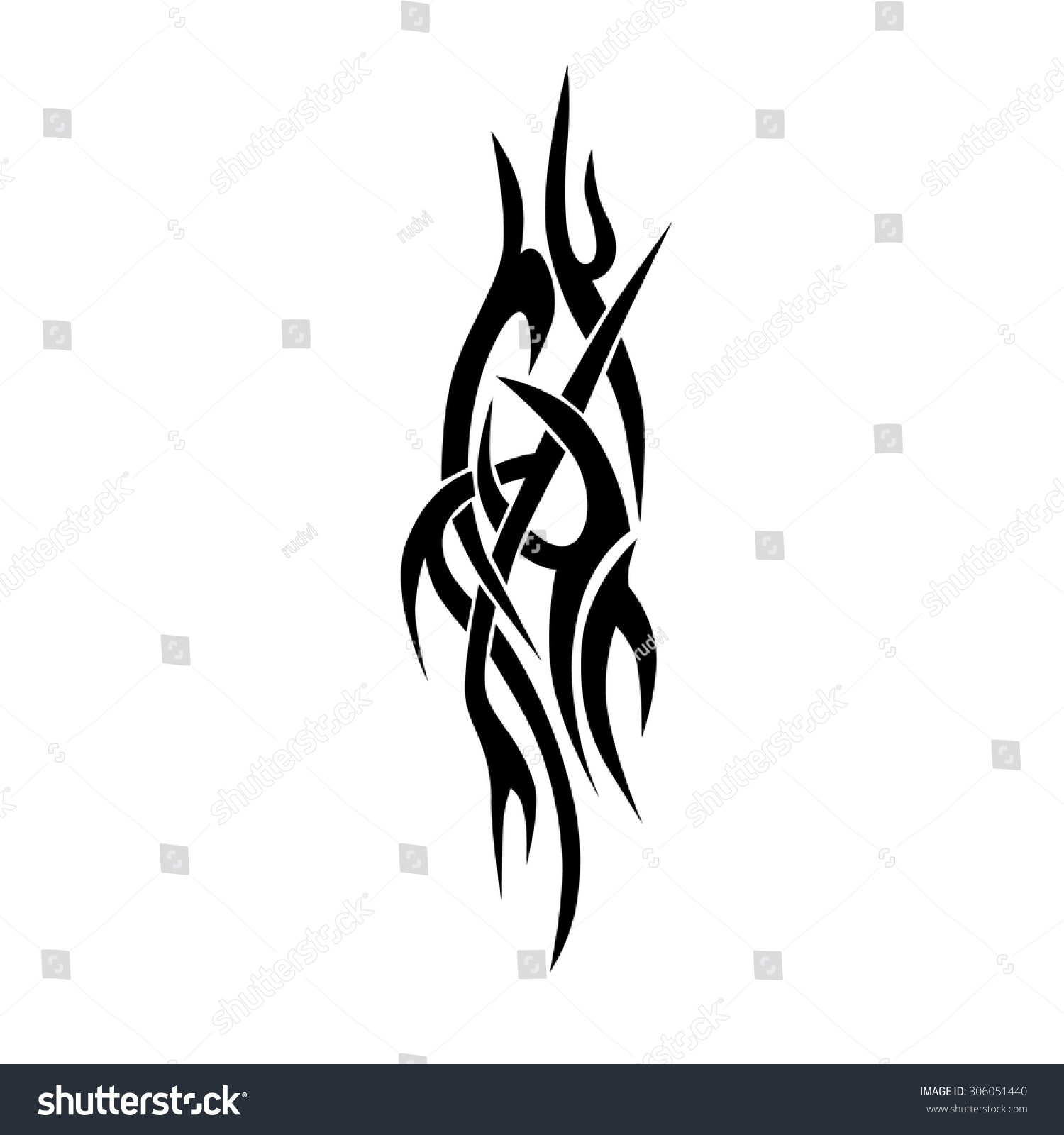 Tribal-Tattoos stock-vector-vector-tribal-tattoo-designs-tribal-tattoos-art-tribal-tattoo-vector-sketch-of-a-tattoo-306051440