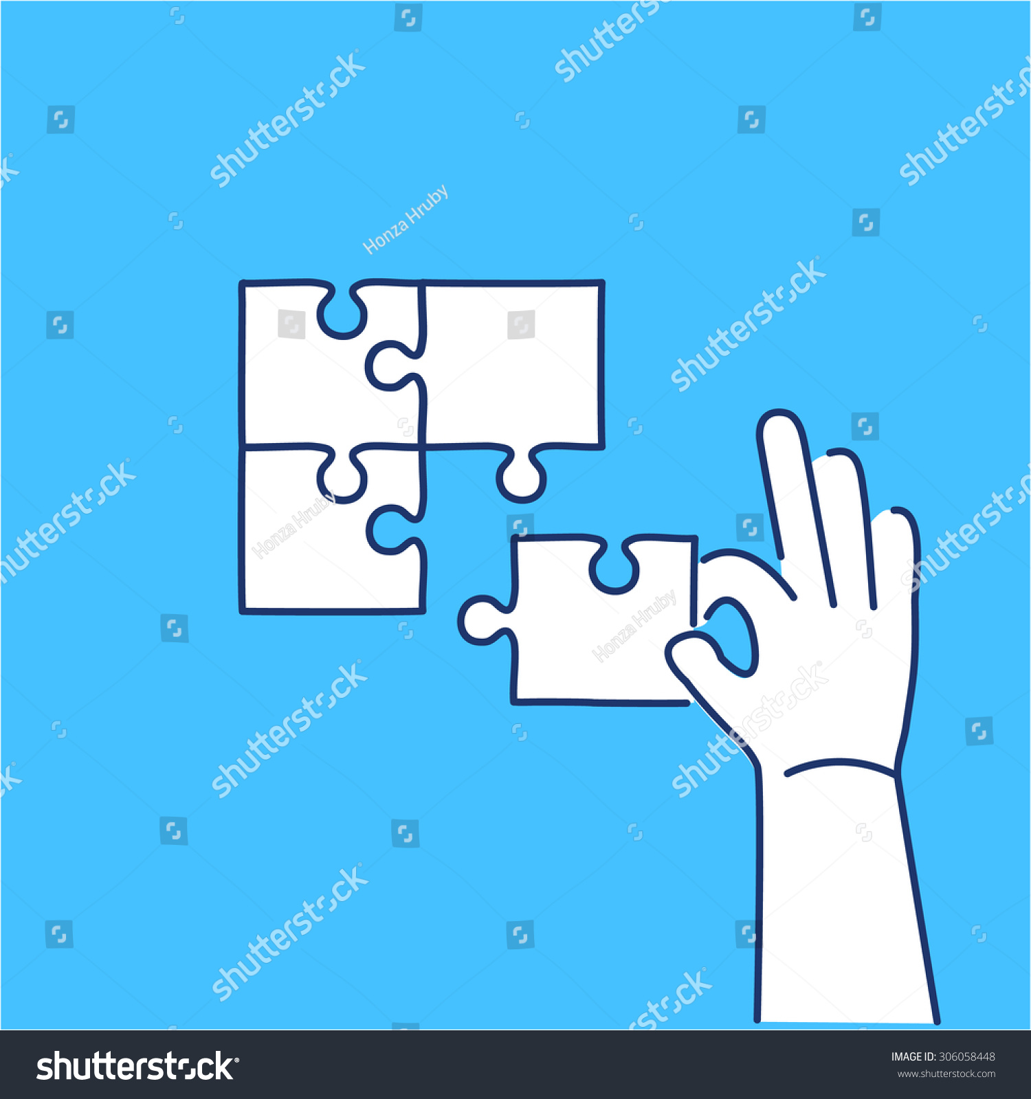 vector skills icon building puzzle finding stock vector  vector skills icon of building puzzle finding solution modern flat design soft skills linear illustration