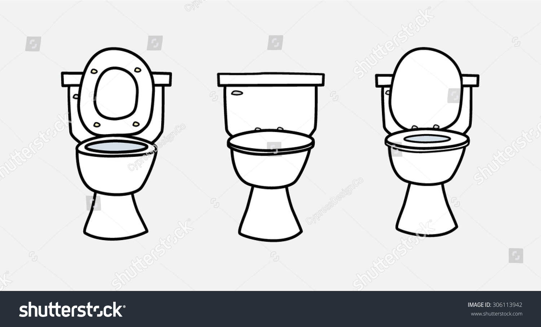 Toilet Seat Vec... Toilet Seat Vector