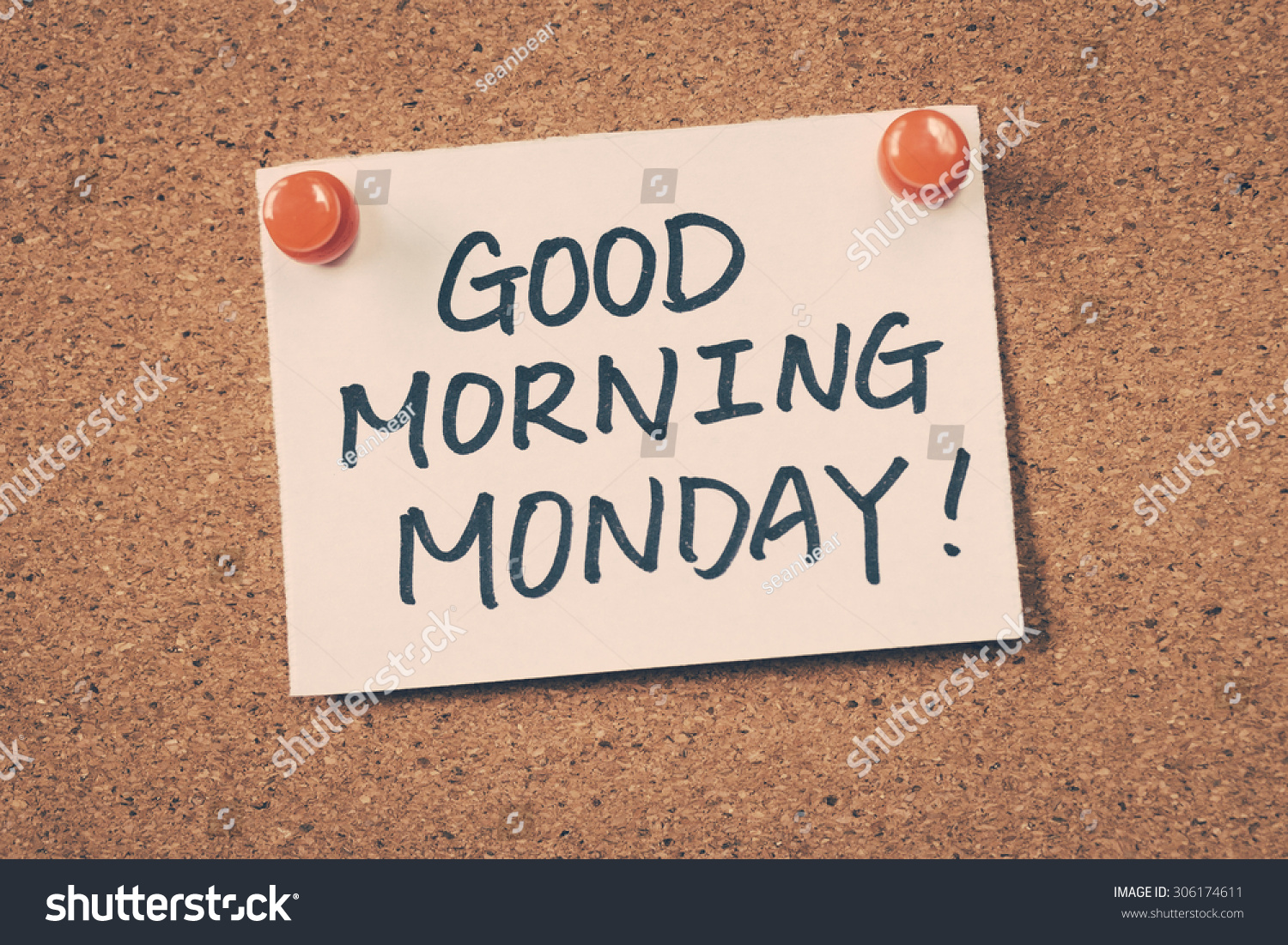 Good Morning Monday In French : Good morning monday stock photo shutterstock