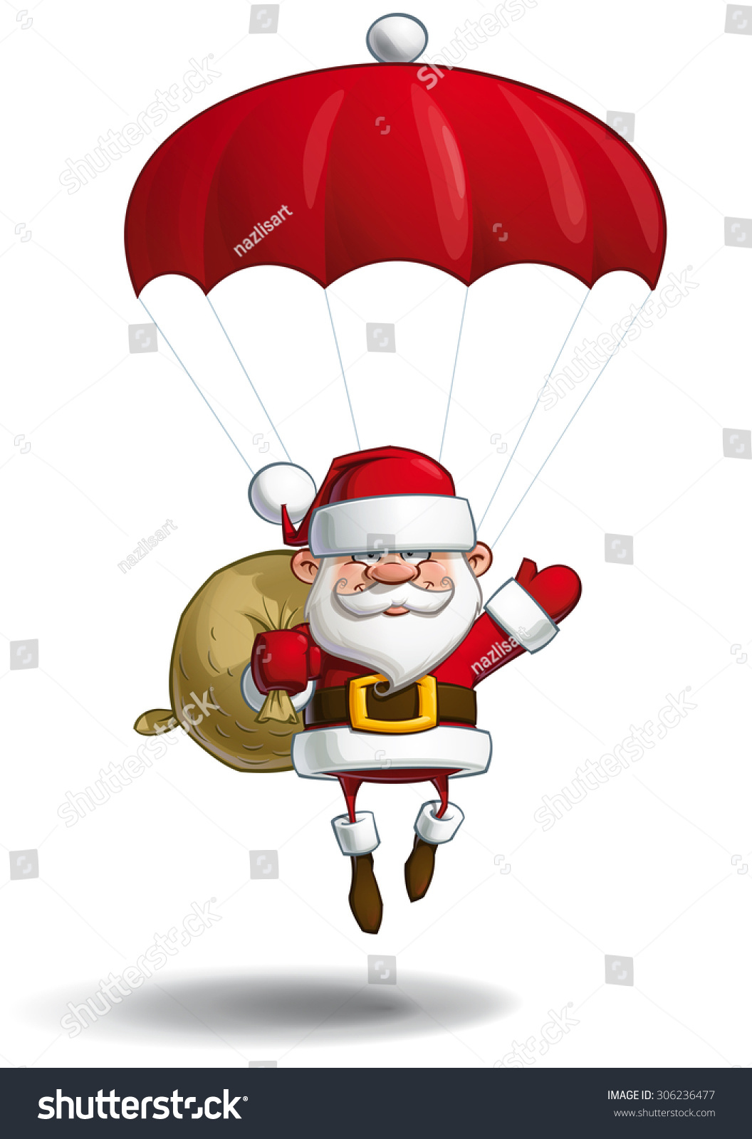 https://image.shutterstock.com/z/stock-vector-cartoon-vector-illustration-of-a-happy-santa-claus-falling-with-a-parachute-holding-a-gift-sack-306236477.jpg