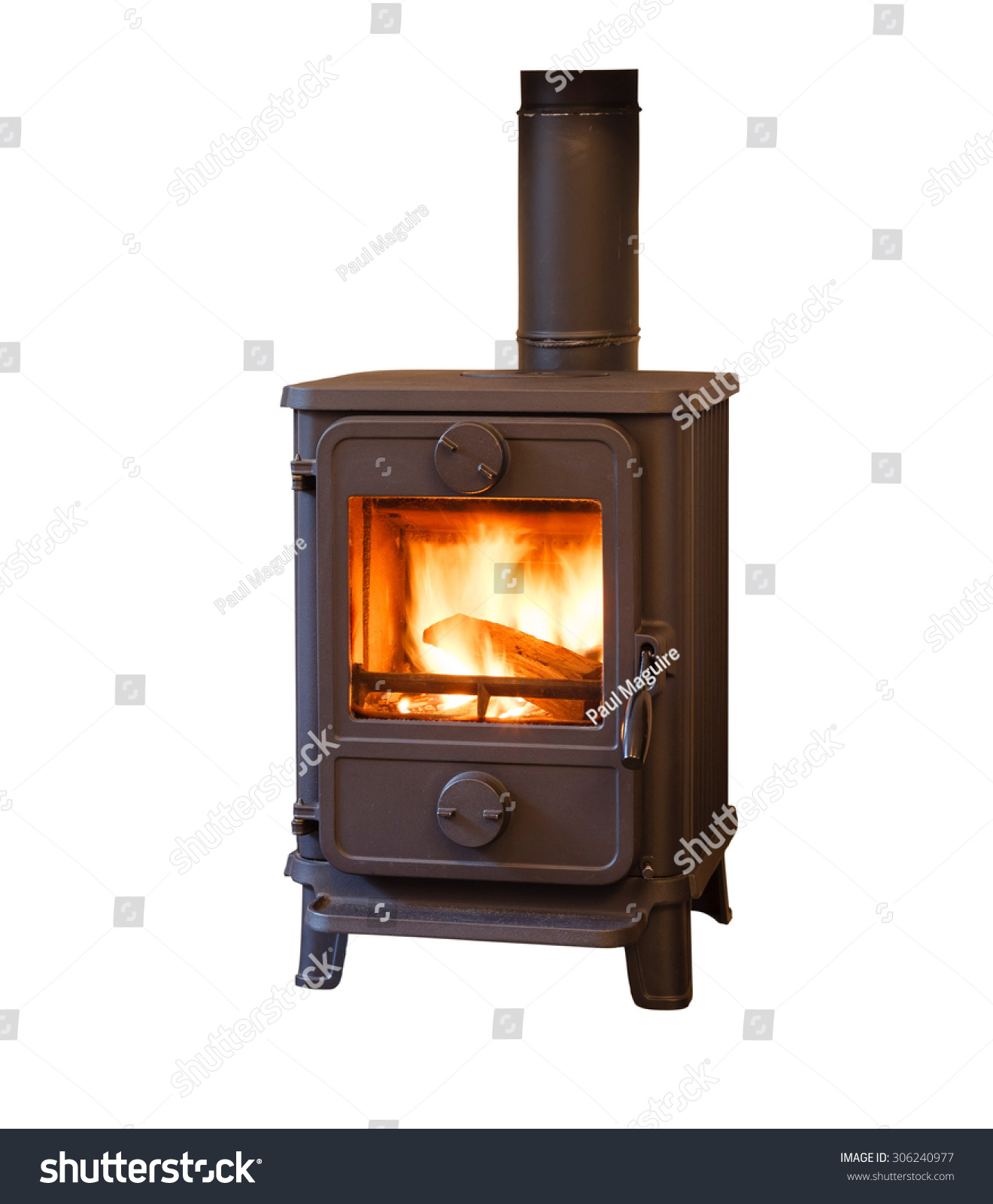 Briquettes For Wood Stove ~ Wood burning stove stock photo shutterstock