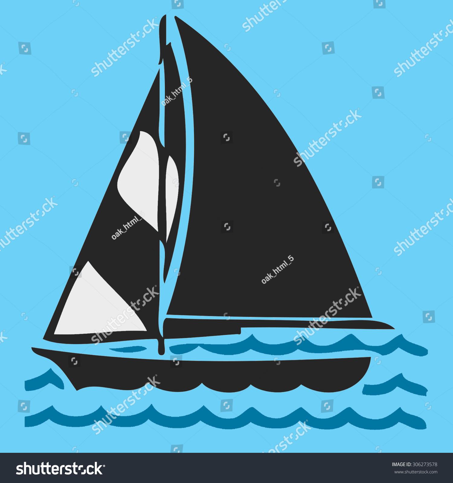 Sailing Symbol Ez Canvas