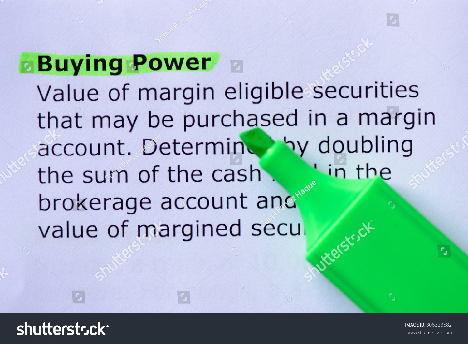 What is 'Buying Power'