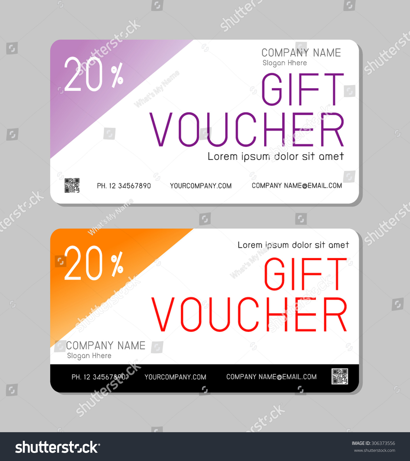 Gift Voucher Template Modern Pattern Voucher Vector – Voucher Template