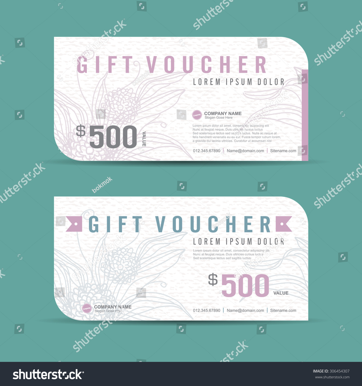 Cute gift certificate template credit memo sample sample notice to gift voucher template colorful patterncute basic invoice template stock vector vector illustration gift voucher template with pronofoot35fo Images
