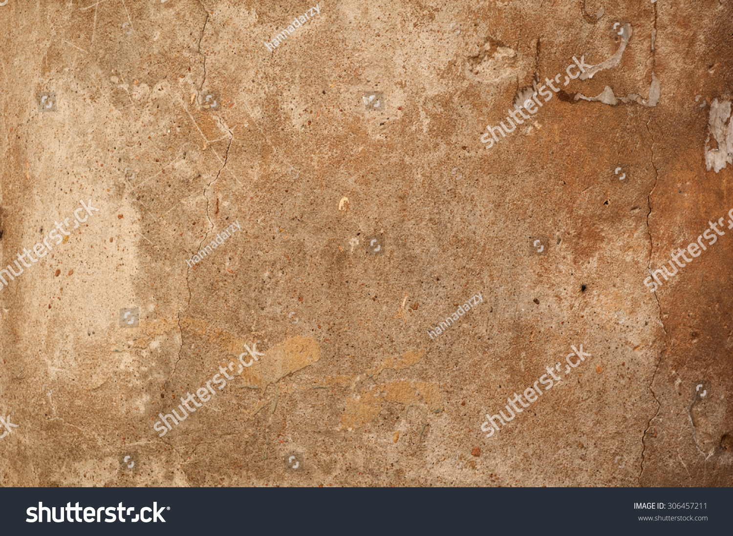Texture Old Rustic Wall Covered Gray Stock Photo 306457211