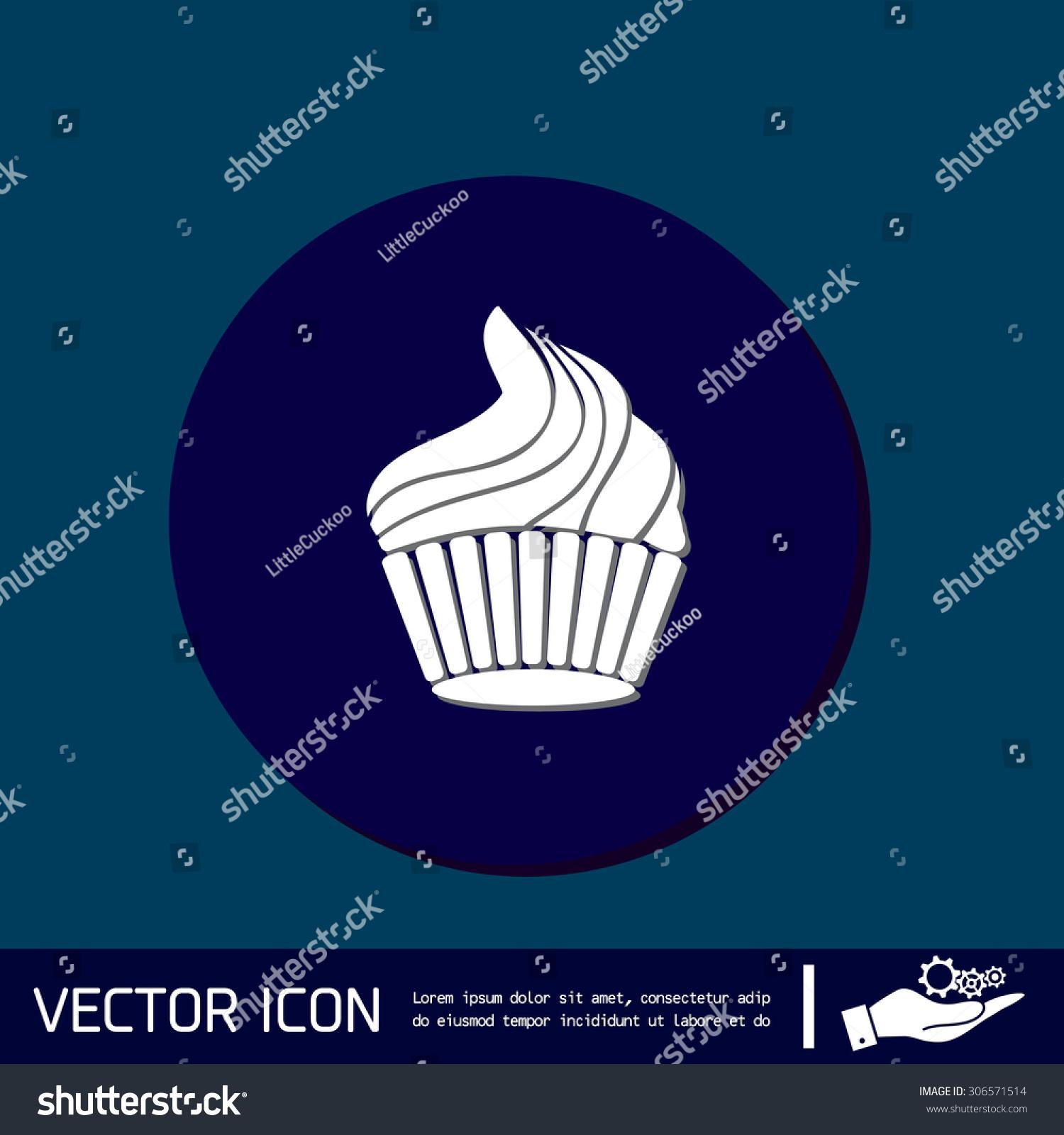 Birthday cake icon symbol cake celebrating stock vector 306571514 birthday cake icon symbol of cake celebrating the birthday of the loaf biocorpaavc