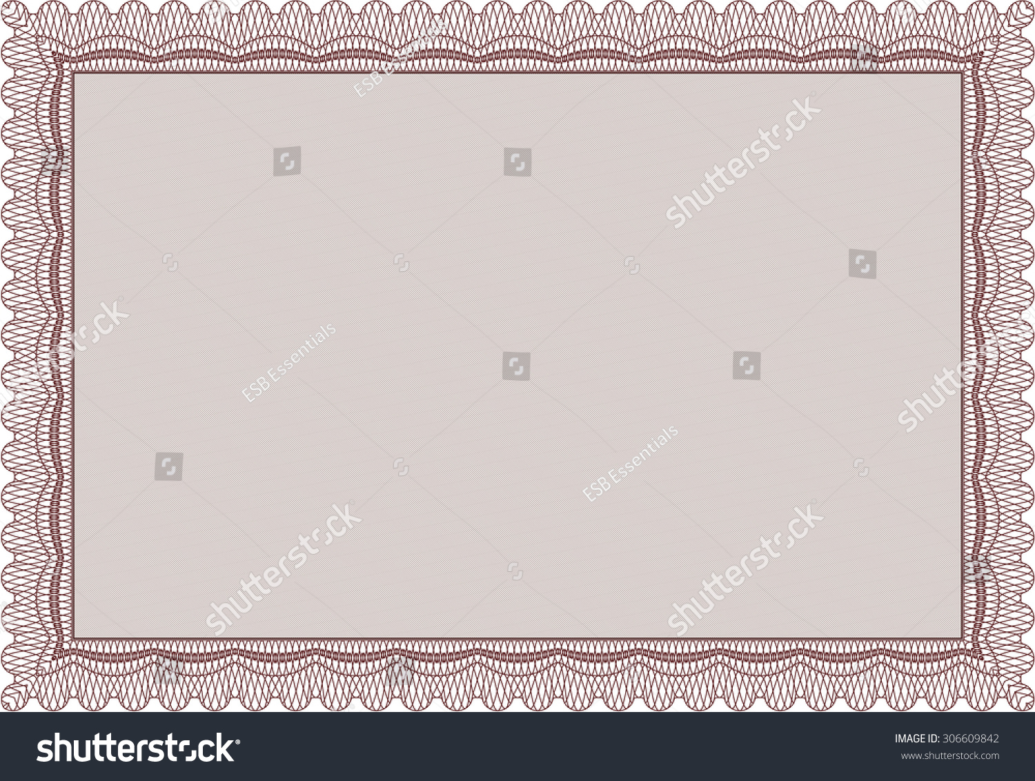 Stock share certificate template sop format in word company order stock share certificate template contingency microsoft thank you stock vector diploma template with background retro design yadclub Image collections