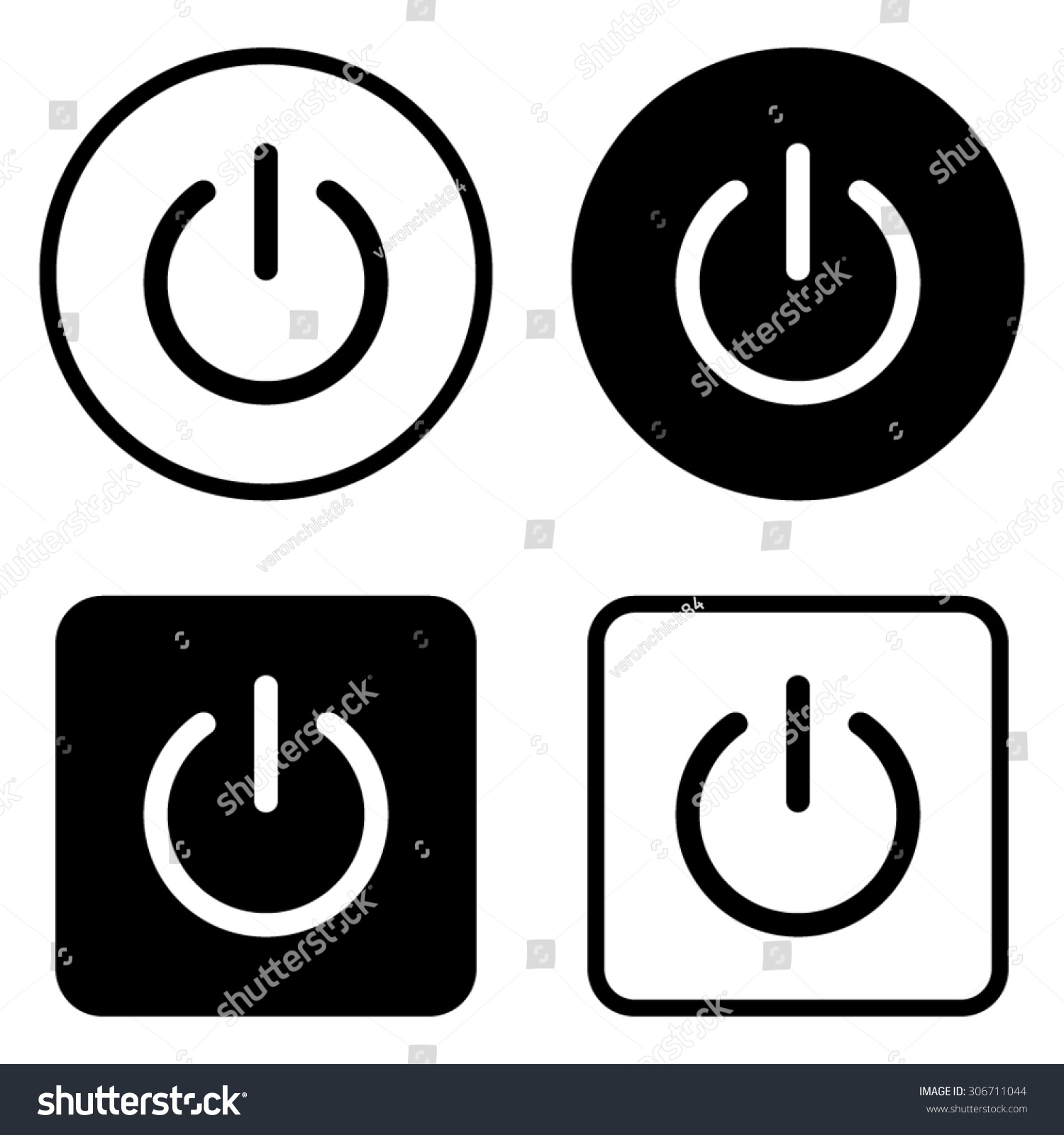 Onoff switch vector icon stock vector 306711044 shutterstock onoff switch vector icon biocorpaavc Images