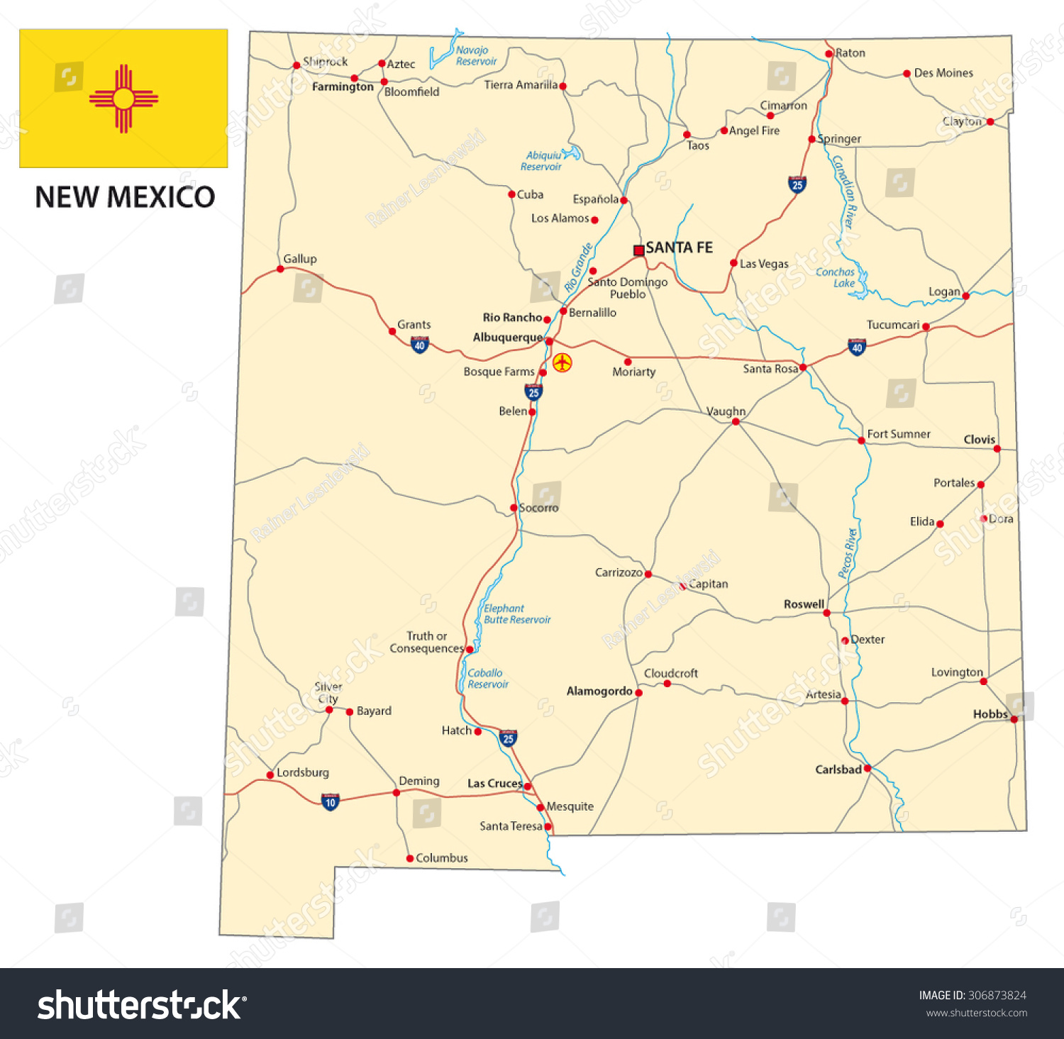 New Mexico Road Map four stages of a product life cycle