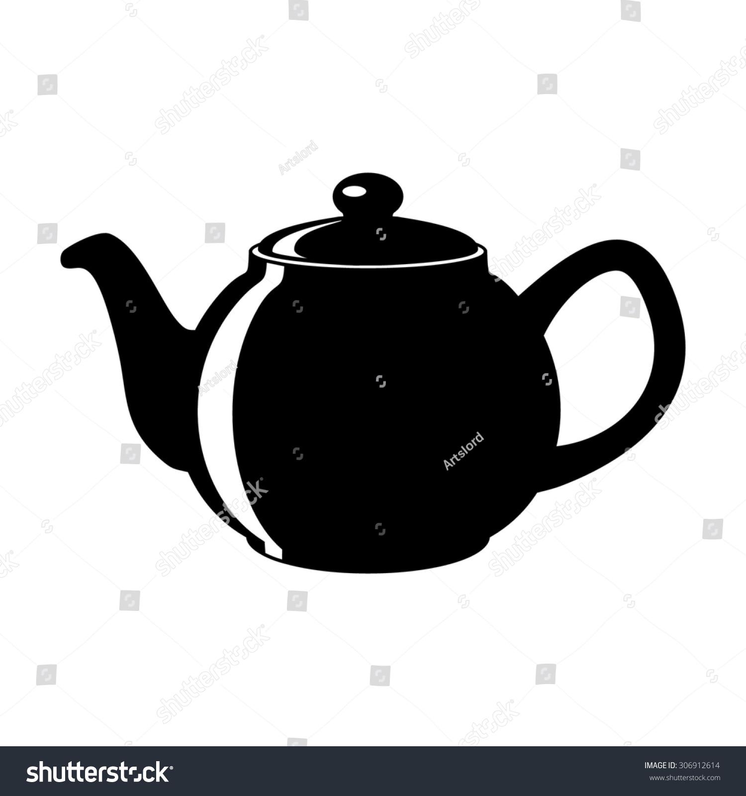 Icon Teapot Kettle Tea Pot Stock Vector 306912614 ...
