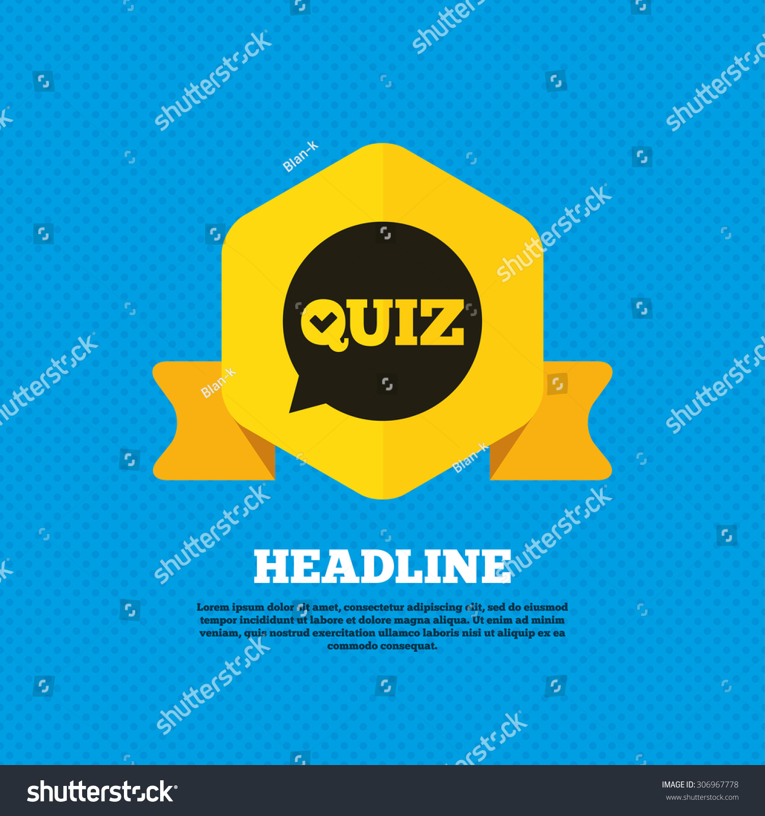 Quiz Check In Speech Bubble Sign Icon. Questions And
