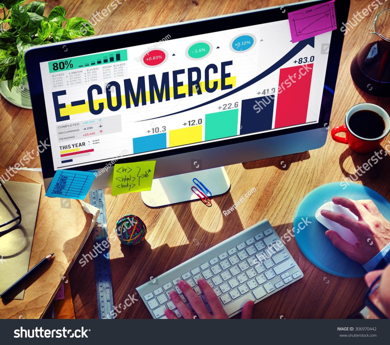 E-commerce Internet Global Marketing Purchasing Concept #306970442