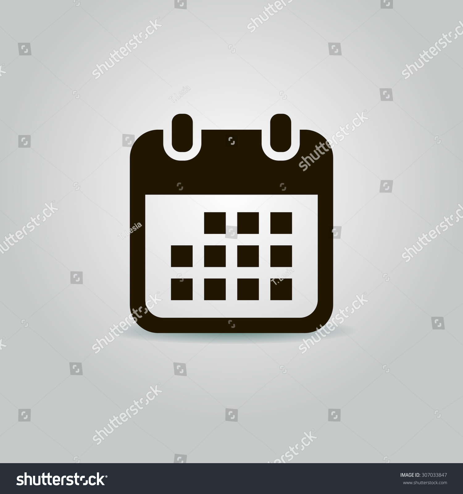 Calendar Illustration Vector : Calendar icon vector illustration stock