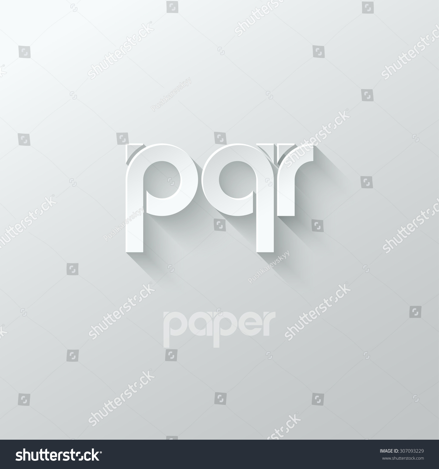 letters p q and r stock photography image 15830572 letter p q r logo alphabet icon paper set background stock 552