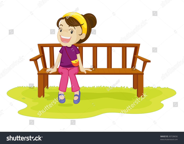 Как нарисовать мальчиков сидящих на скамейке