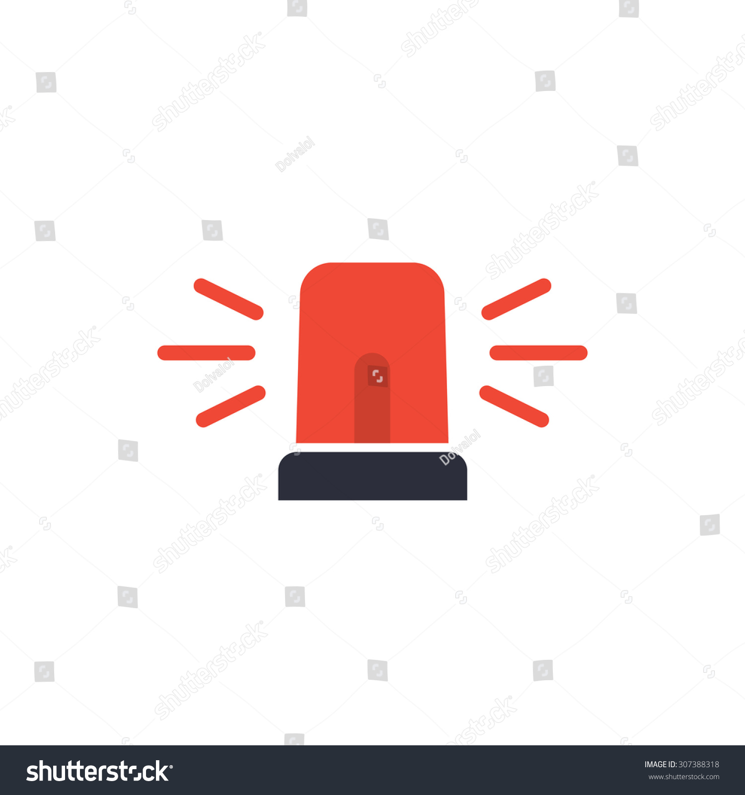 Siren Light Vector siren stock vectors & vector clip art shutterstock