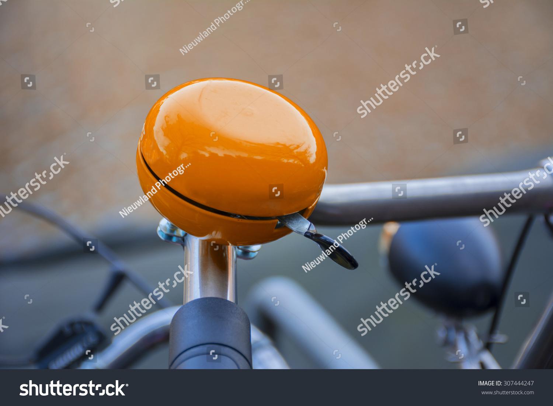 Orange Bike Bell Stock Photo 307444247 Shutterstock