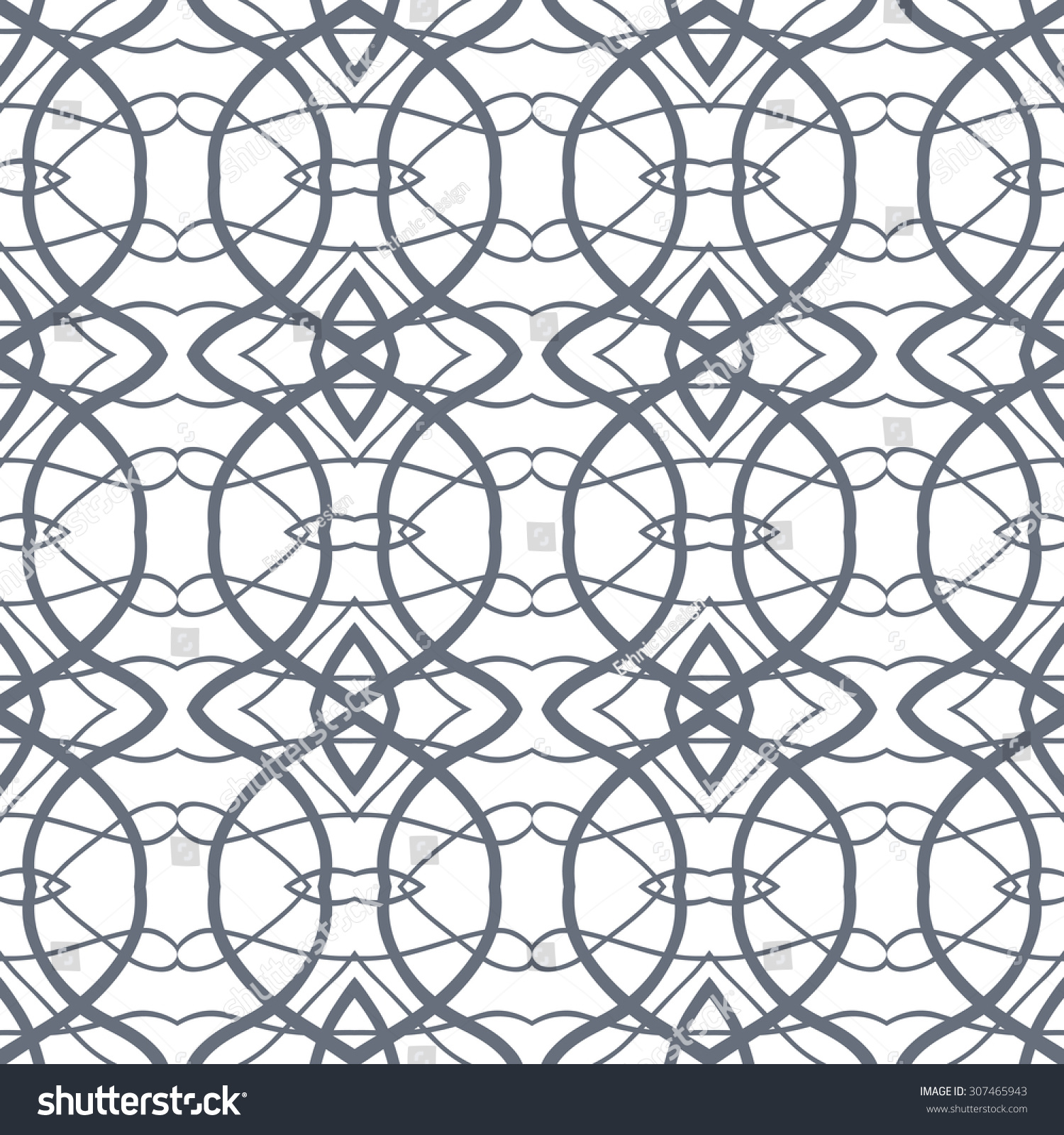 Vector Seamless Pattern Repeating Geometric Mesh Stock Vector ... for Modern Arabic Pattern Vector  45ifm