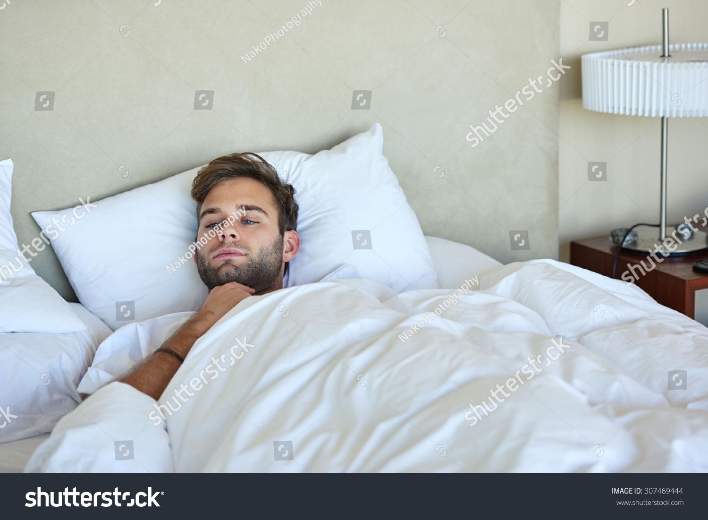 In bed men white Wealthy Older