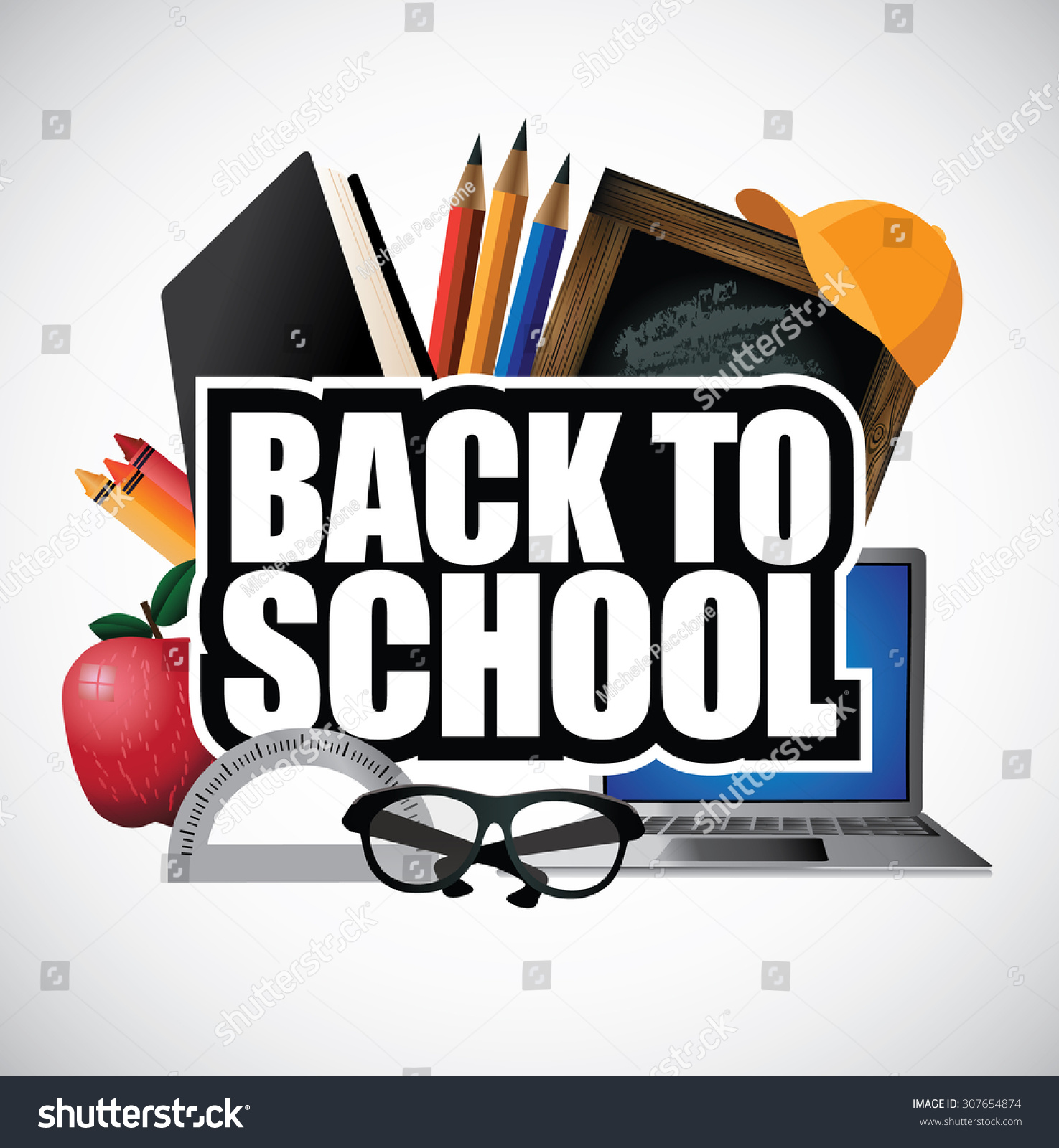 Poster design article - Back To School Design Illustration For Greeting Card Ad Promotion Poster