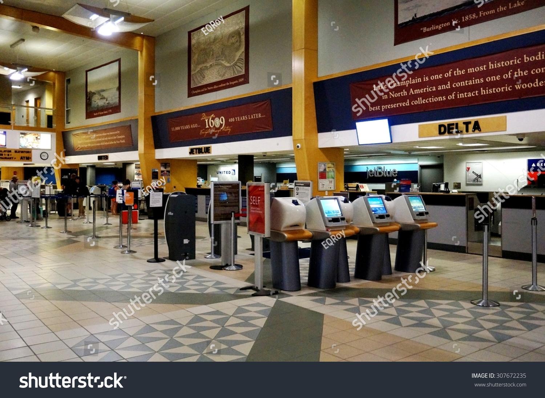 Burlington Vt 15 August 2015 Terminal Stock Photo
