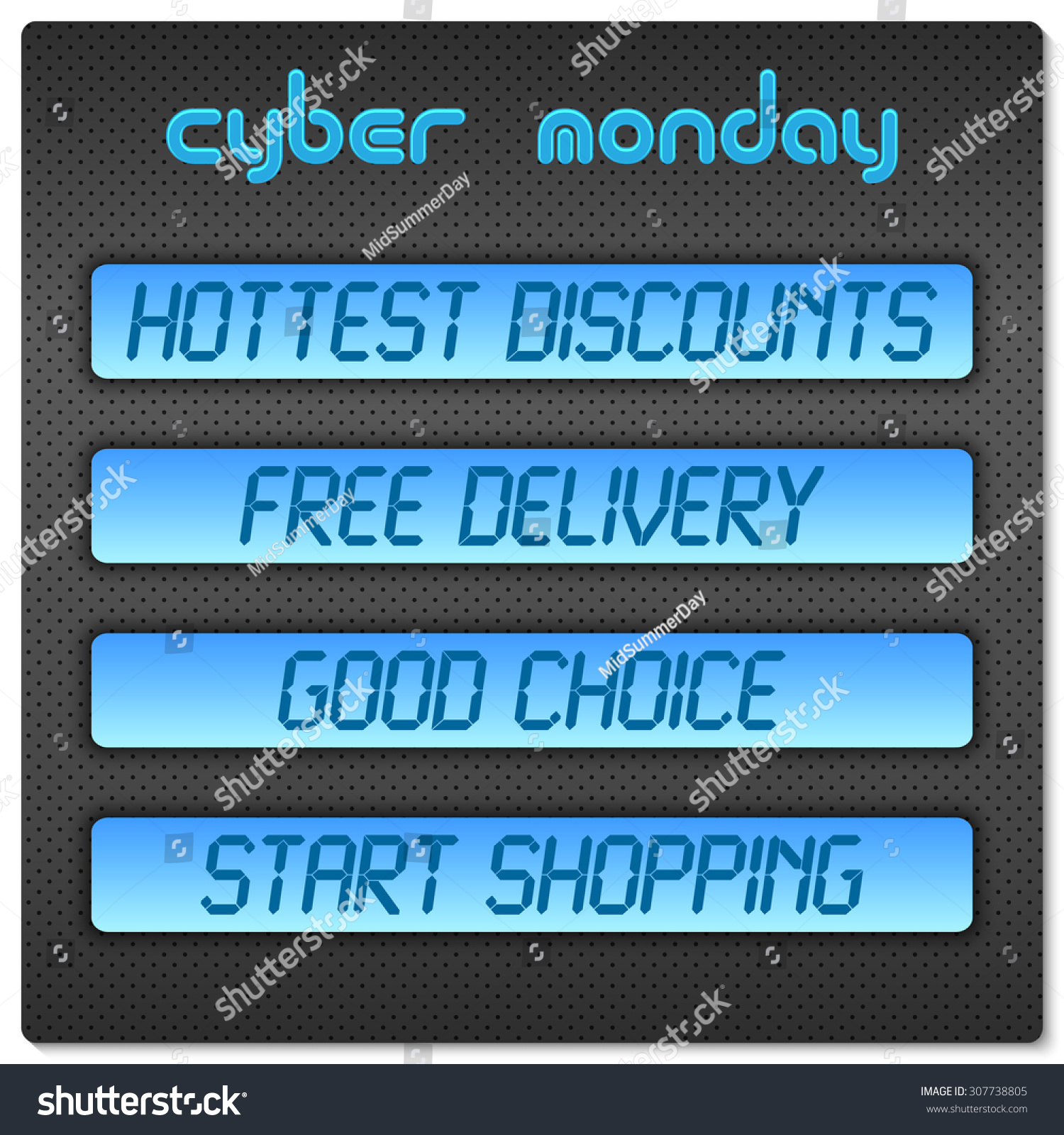 blue digital promo text on a dark hi tech background sale discount theme for cyber monday. Black Bedroom Furniture Sets. Home Design Ideas