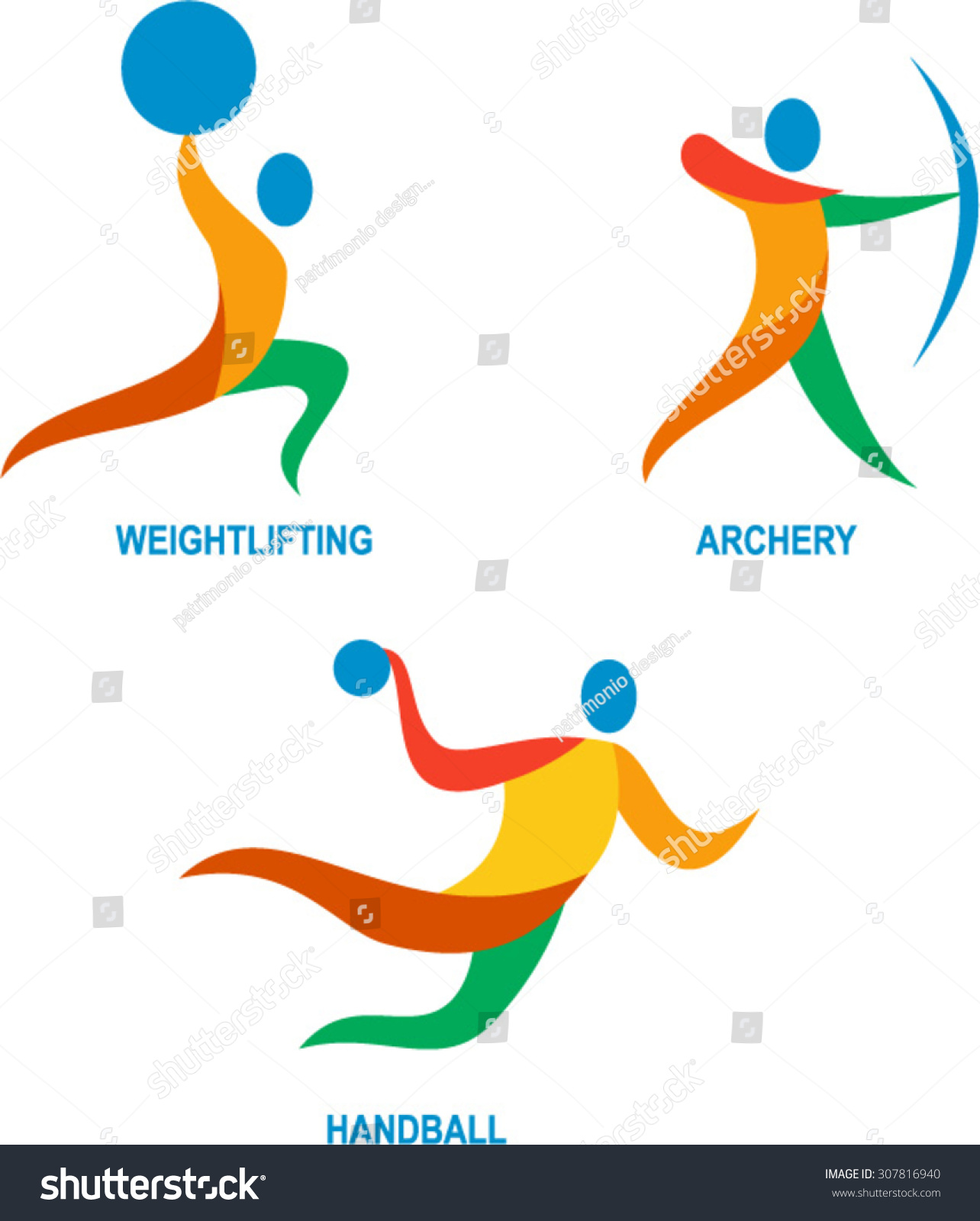 icon illustration showing athlete playing sport stock vector rh shutterstock com
