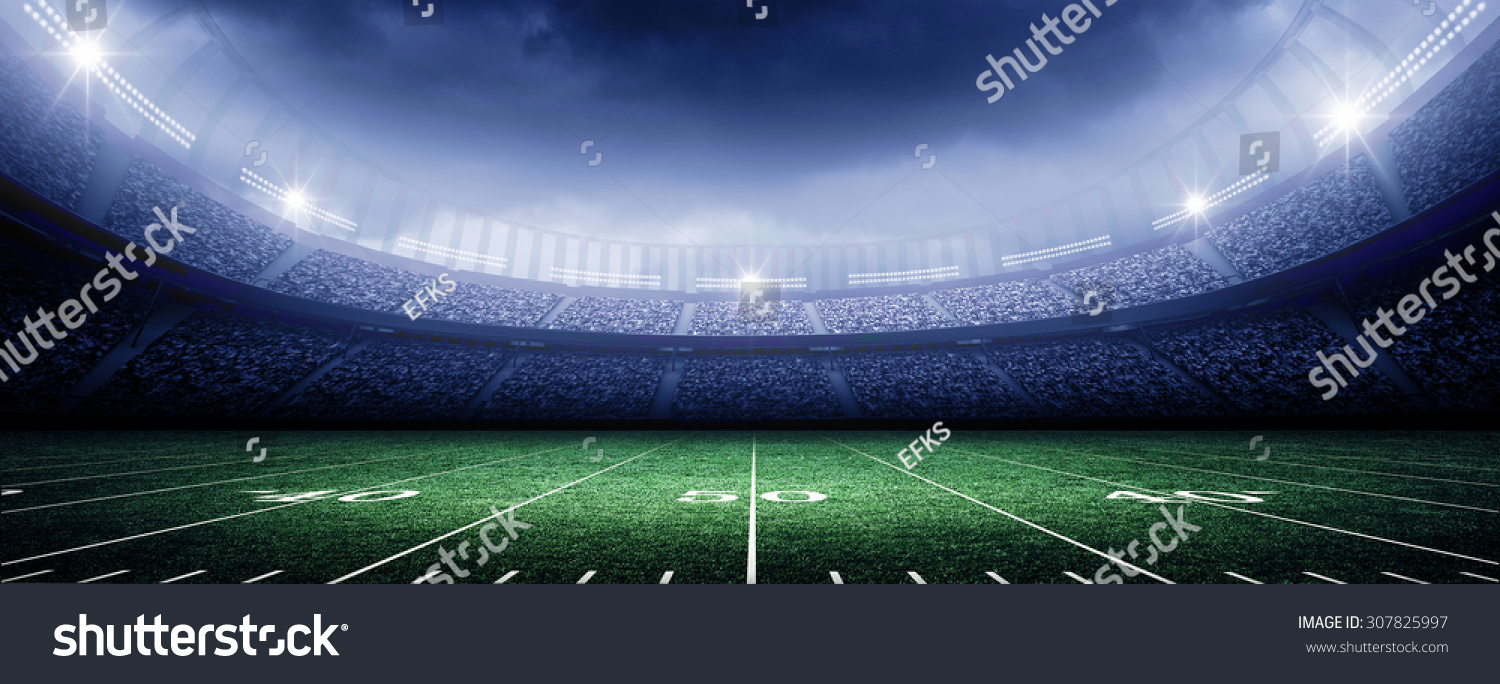 american stadium stock illustration 307825997