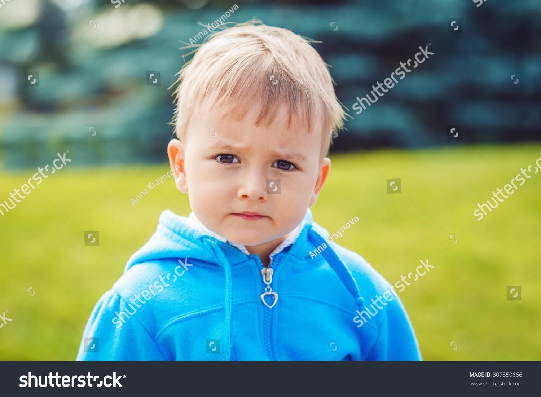 royaltyfree portrait of cute young caucasian little
