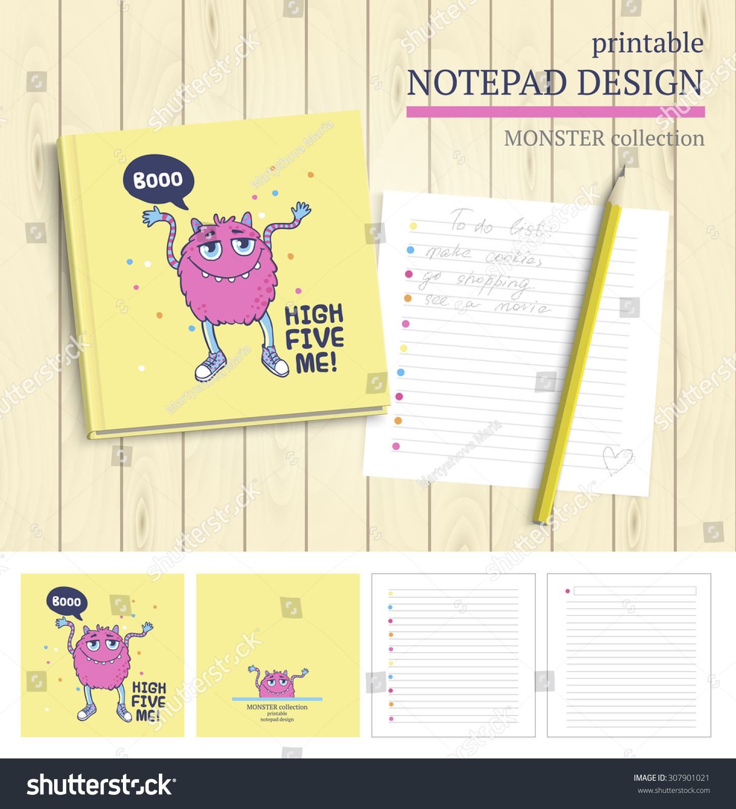 Vector Printable Notepad Design Cover Papers Vector – Printable Notepad Paper