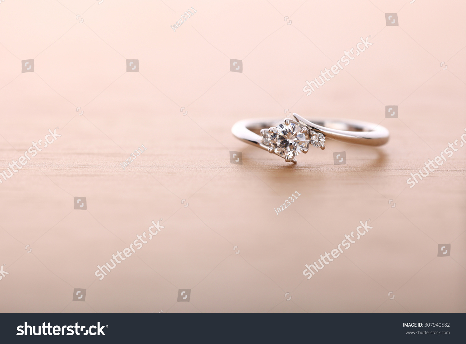 Engagement Ring Stock Photo (Royalty Free) 307940582 - Shutterstock