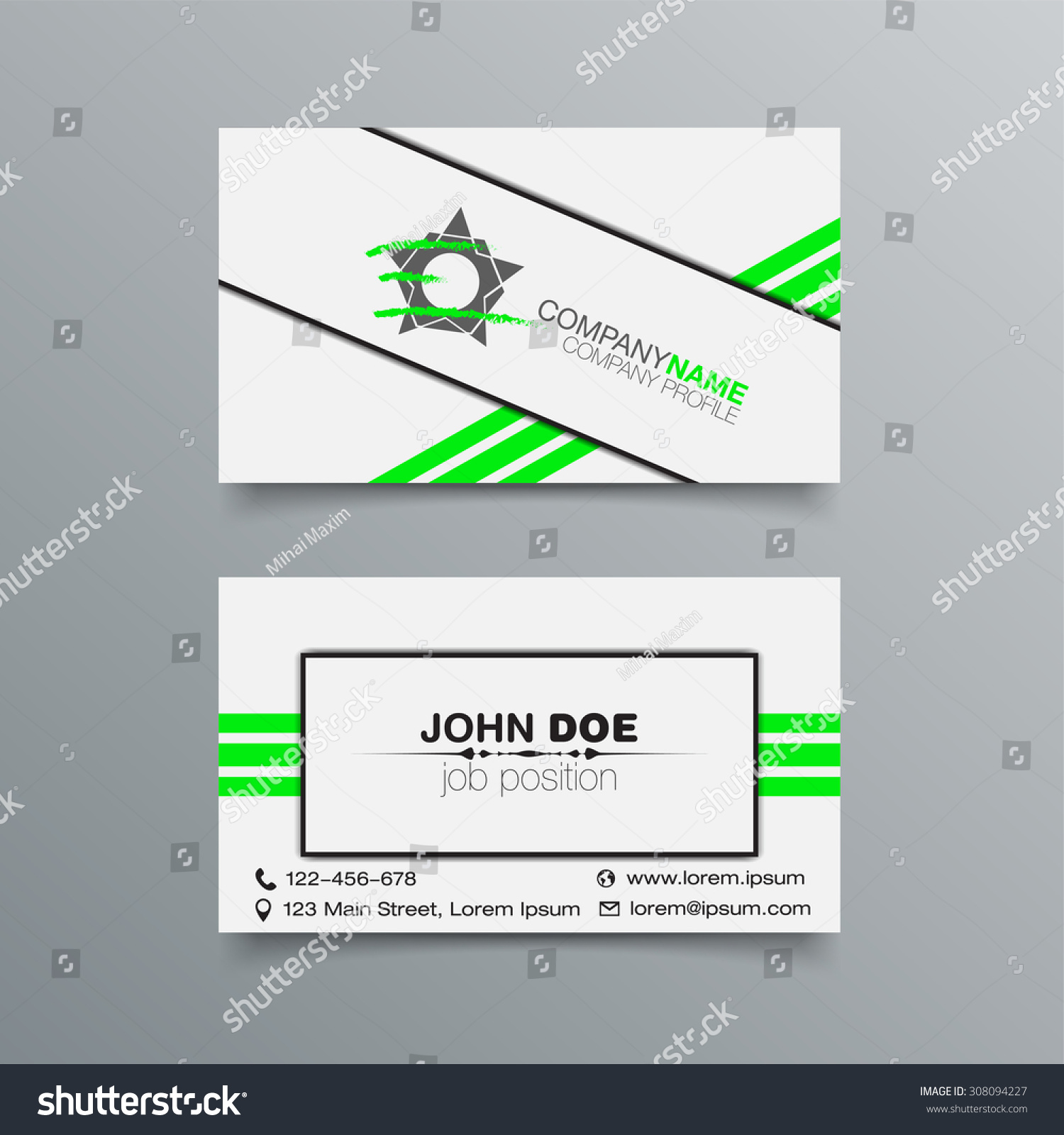 Business card background design template stock stock vector hd business card background design template stock vector illustration reheart Images