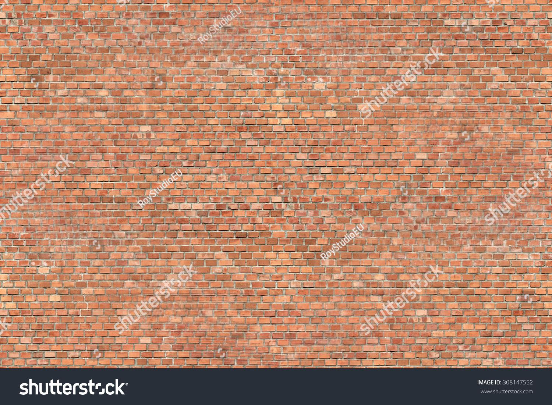 赤いレンガの壁のテクスチャ背景にシームレスなパターン のイラスト