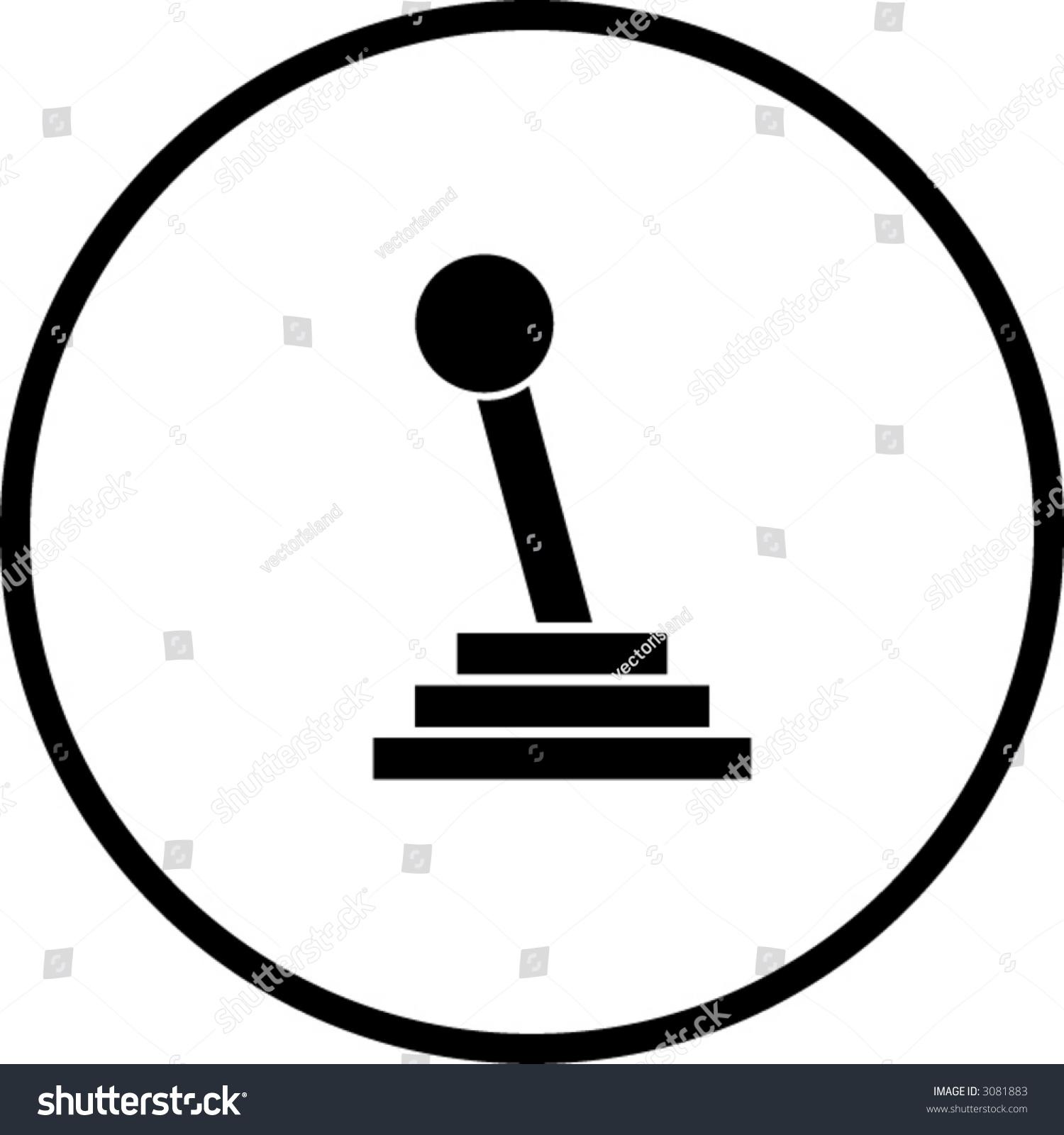 Astonishing Gear Shift Stick Symbol Stock Vektorgrafik Lizenzfrei 3081883 Wiring Cloud Hisonuggs Outletorg
