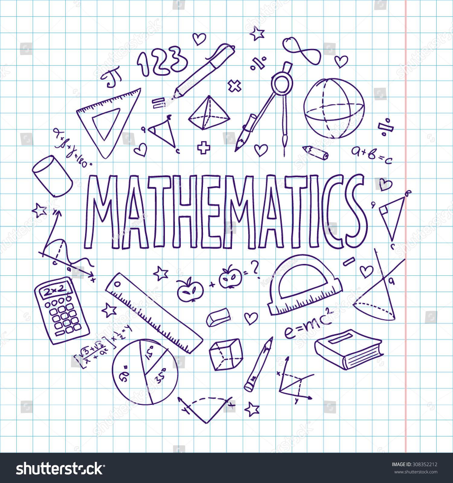 Royalty free hand drawn vector school set 308352212 for School blueprint maker